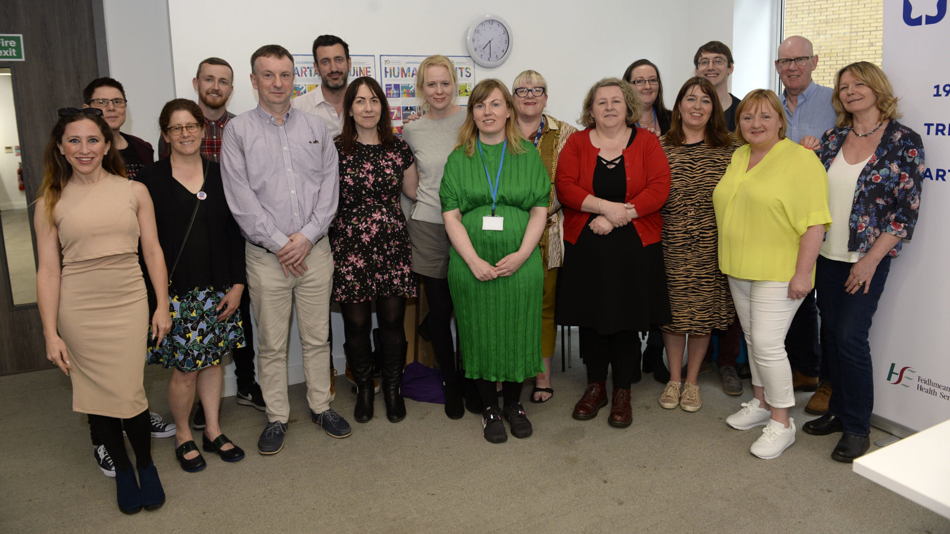 Photographs from Launch of Stay Safe Work Wise Website